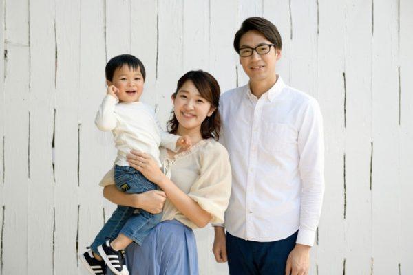 パパママ子供の写真