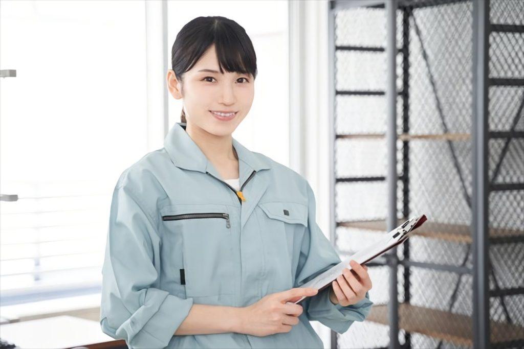 現場で働く女性のイメージ