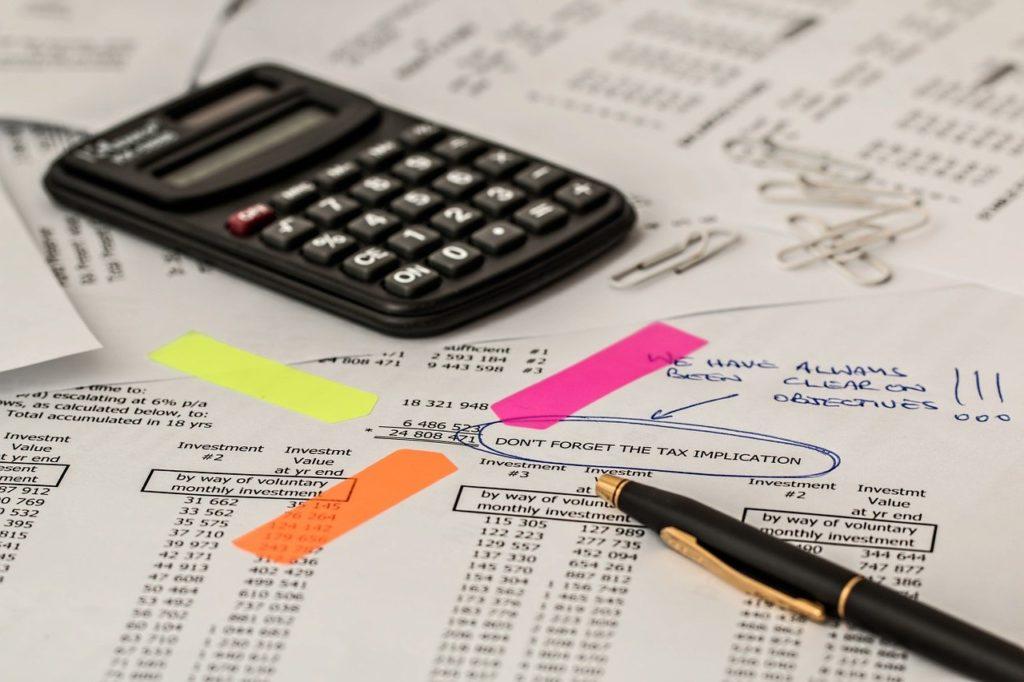 税務書類イメージ
